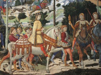Magi Chapel. Journey of the Magi (the Magi Ride)-Benozzo Gozzoli-Giclee Print