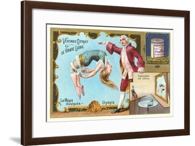 Magic Act Revealed, Underwater--Framed Art Print