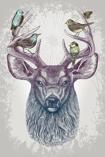 Magic Buck-Rachel Caldwell-Art Print