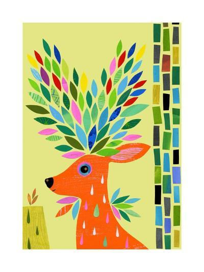 Magic Deer-Anne Vasko-Giclee Print