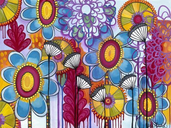 Magic Garden-Carla Bank-Giclee Print