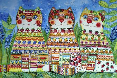 Magic Happy Cats!-Oxana Zaika-Giclee Print