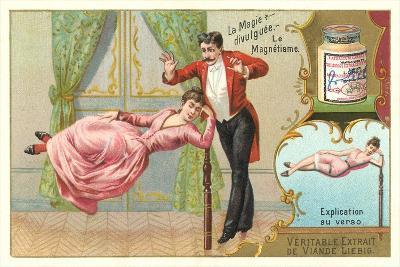 Magic Hypnotism Act--Art Print