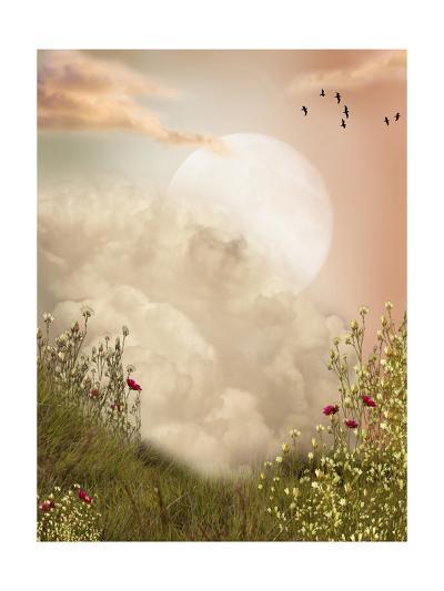 Magic Landscape-justdd-Art Print