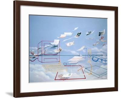 Magic Money-Lincoln Seligman-Framed Giclee Print