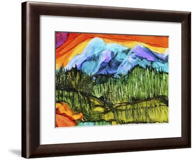 Magic Mountain-Michelle McCullough-Framed Giclee Print