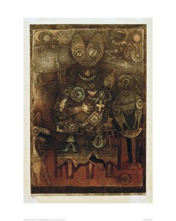 Magic Theatre-Paul Klee-Giclee Print