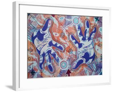 Magic-Abstract Graffiti-Framed Giclee Print