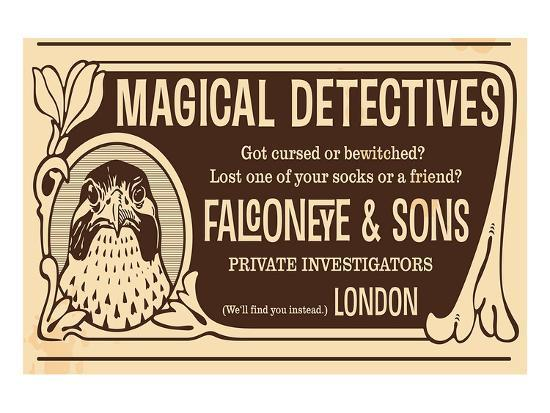 Magical Detectives Falconeye--Premium Giclee Print