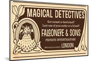 Magical Detectives Falconeye