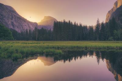 Magical Morning Light at Half Dome - Yosemite Valley-Vincent James-Photographic Print