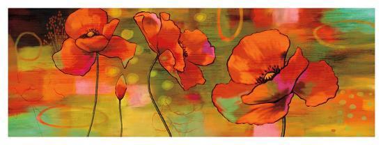 Magical Poppies-Nicole Sutton-Giclee Print