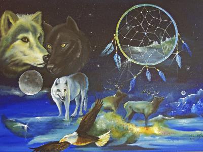 Magical Spirits-Sue Clyne-Giclee Print