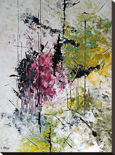 Magn Tik De La Foret Enchante-Annie Rodrigue-Stretched Canvas Print