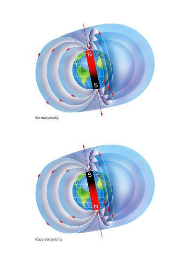 Magnetic Field Reversal-Gary Hincks-Photographic Print