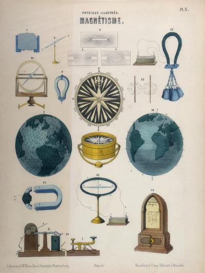 Magnetism, C1850--Giclee Print