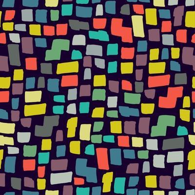 Seamless Abstract Color Pattern. Vector Illustration