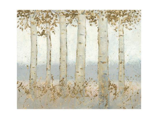 Magnificent Birch Grove-James Wiens-Art Print