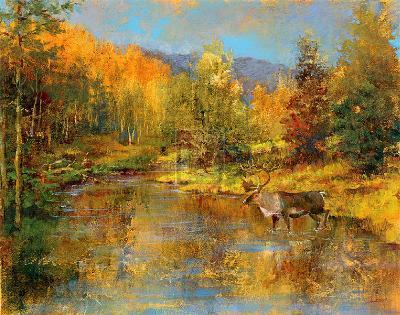 Magnificent Valley-Michael Longo-Art Print