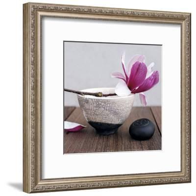Magnolia and Bowl-Amelie Vuillon-Framed Art Print