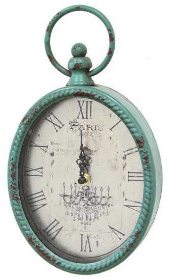 Magnolia Antique Clock--Home Accessories