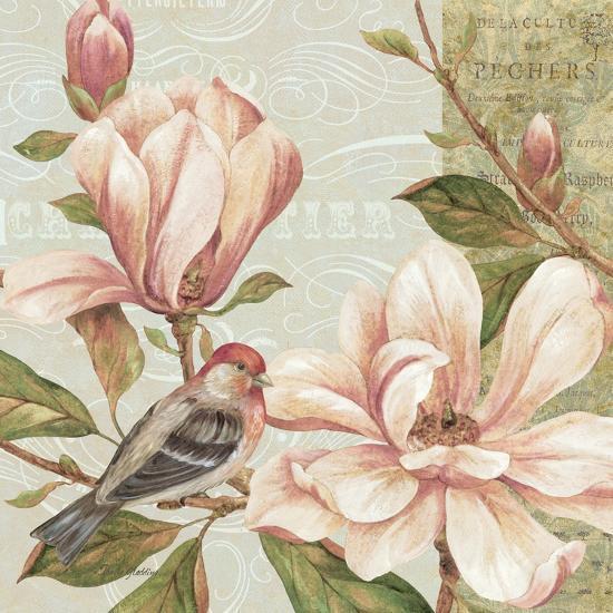 Magnolia Collage II-Pamela Gladding-Art Print