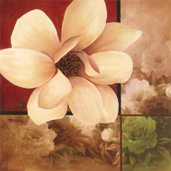 Magnolia Collage-T^ C^ Chiu-Art Print