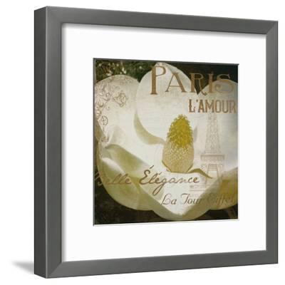 Magnolia Paris Mate-Jace Grey-Framed Art Print