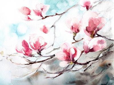 Magnolia, Spring- CanotStop-Art Print