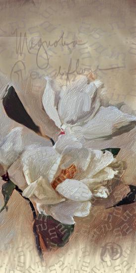 Magnolia-Sarah Butcher-Art Print