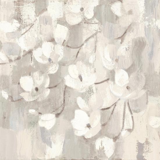 Magnolias in Spring I Neutral-Albena Hristova-Art Print