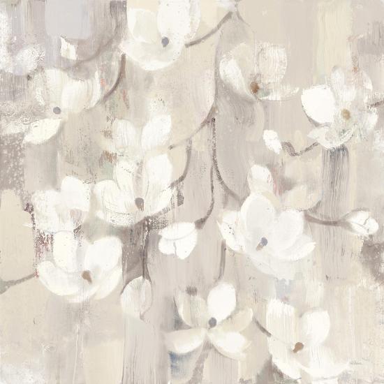 Magnolias in Spring II Neutral-Albena Hristova-Art Print