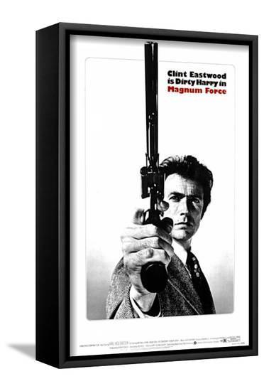Magnum Force--Framed Canvas Print