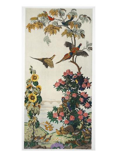 Magnum Opus: Pheasants, Pub. 1933 (Colour Litho)-Harry Wearne-Giclee Print