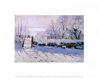 Magpie-Claude Monet-Art Print
