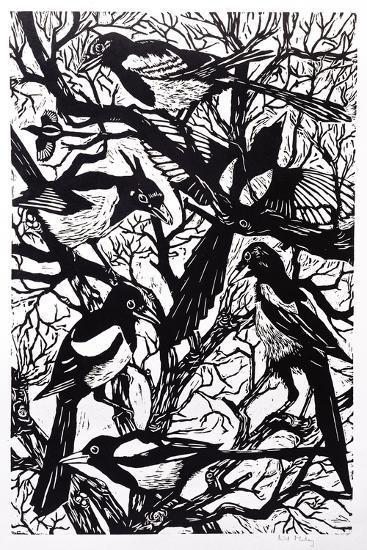 Magpies, 1997-Nat Morley-Giclee Print