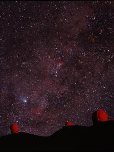 Composite Image of Halley's Comet & Mauna Kea by Magrath Photography