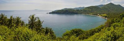 Magsit Bay Panorama, Lombok, Indonesia, Southeast Asia, Asia-Matthew Williams-Ellis-Photographic Print