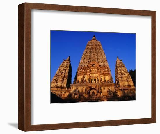 Mahabodhi Temple, Bodhgaya, Bihar, India-Richard I'Anson-Framed Photographic Print