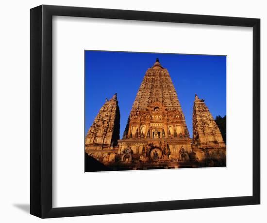 Mahabodhi Temple, Bodhgaya, Bihar, India-Richard I'Anson-Framed Photographic Print