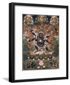 Mahâkâla, sous son aspect Sadbhuja