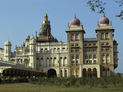 Maharaja's Palace, Mysore, Karnataka State, India-Taylor Liba-Photographic Print