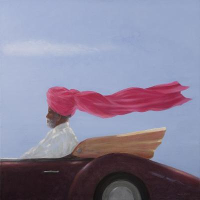 Maharajah at Speed-Lincoln Seligman-Giclee Print