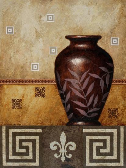 Mahogany Urn I-Michael Marcon-Art Print