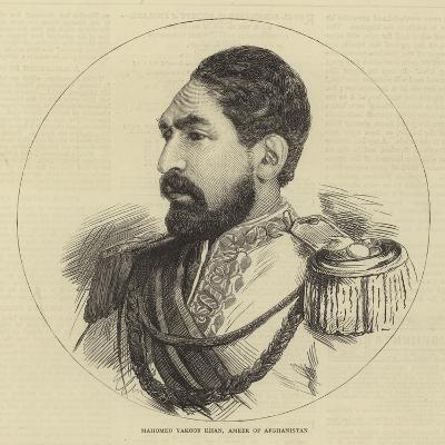 Mahomed Yakoob Khan, Ameer of Afghanistan--Giclee Print