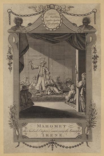 Mahomet, the Turkish Emperor Murdering the Beautiful Irene--Giclee Print