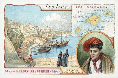 Mahon, Minorca, Balearic Islands--Giclee Print