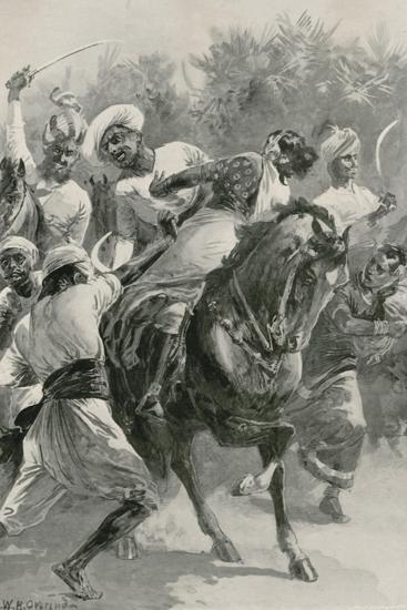 Mahratta Freebooters on a Raiding Expedition-William Heysham Overend-Giclee Print