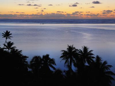 Mahuti Bay, Huahine, French Polynesia, South Pacific Ocean, Pacific-Jochen Schlenker-Photographic Print