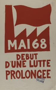 Mai 68 début d'une lutte prolongée
